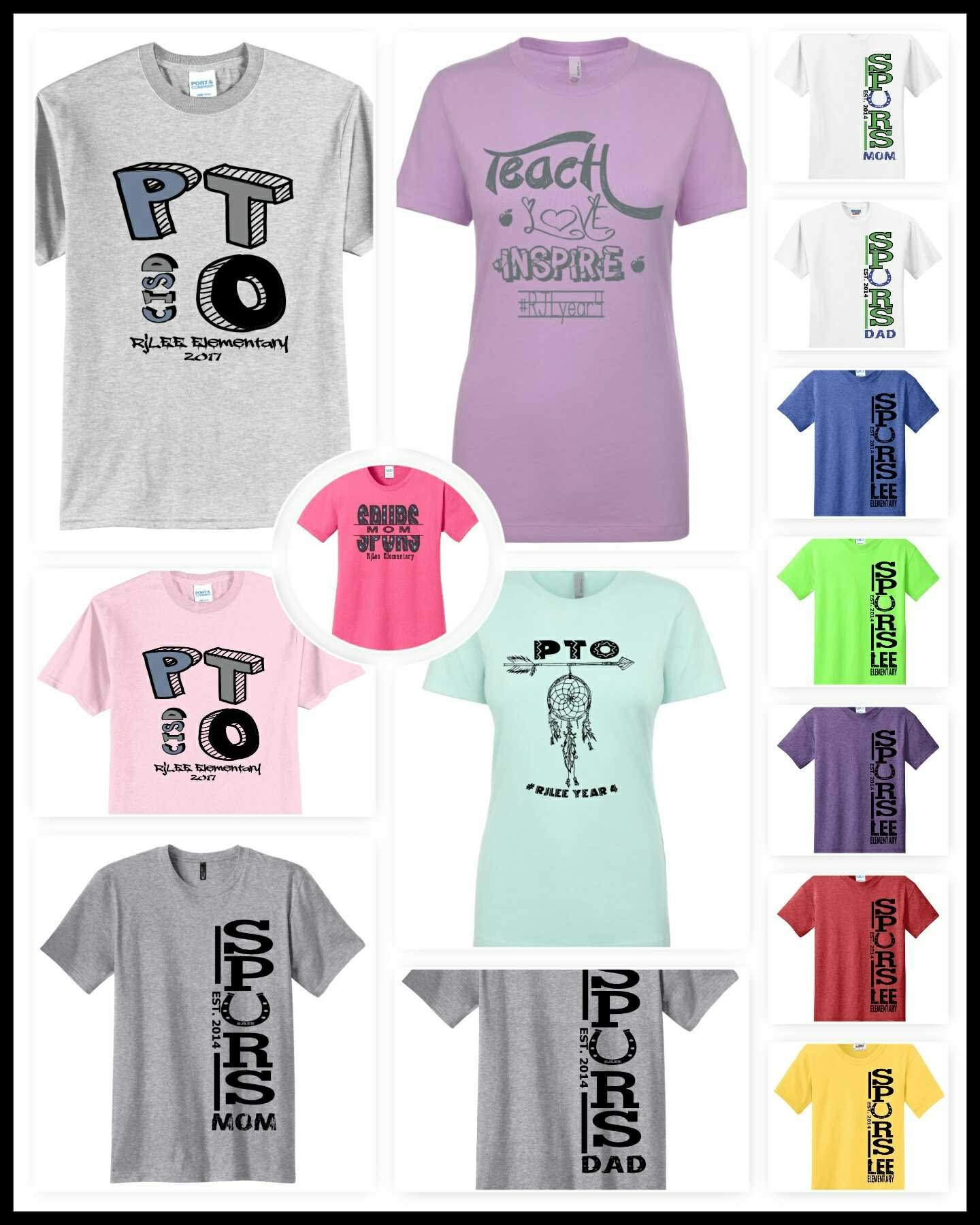 Lee PTO t-shirts